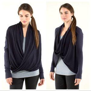 NWOT Lululemon Iconic Wrap Pullover Sweater